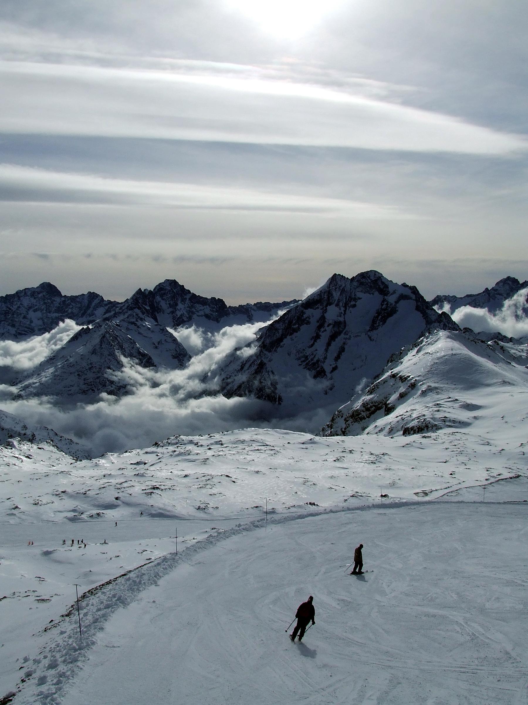 Les Deux Alpes (en hiver)