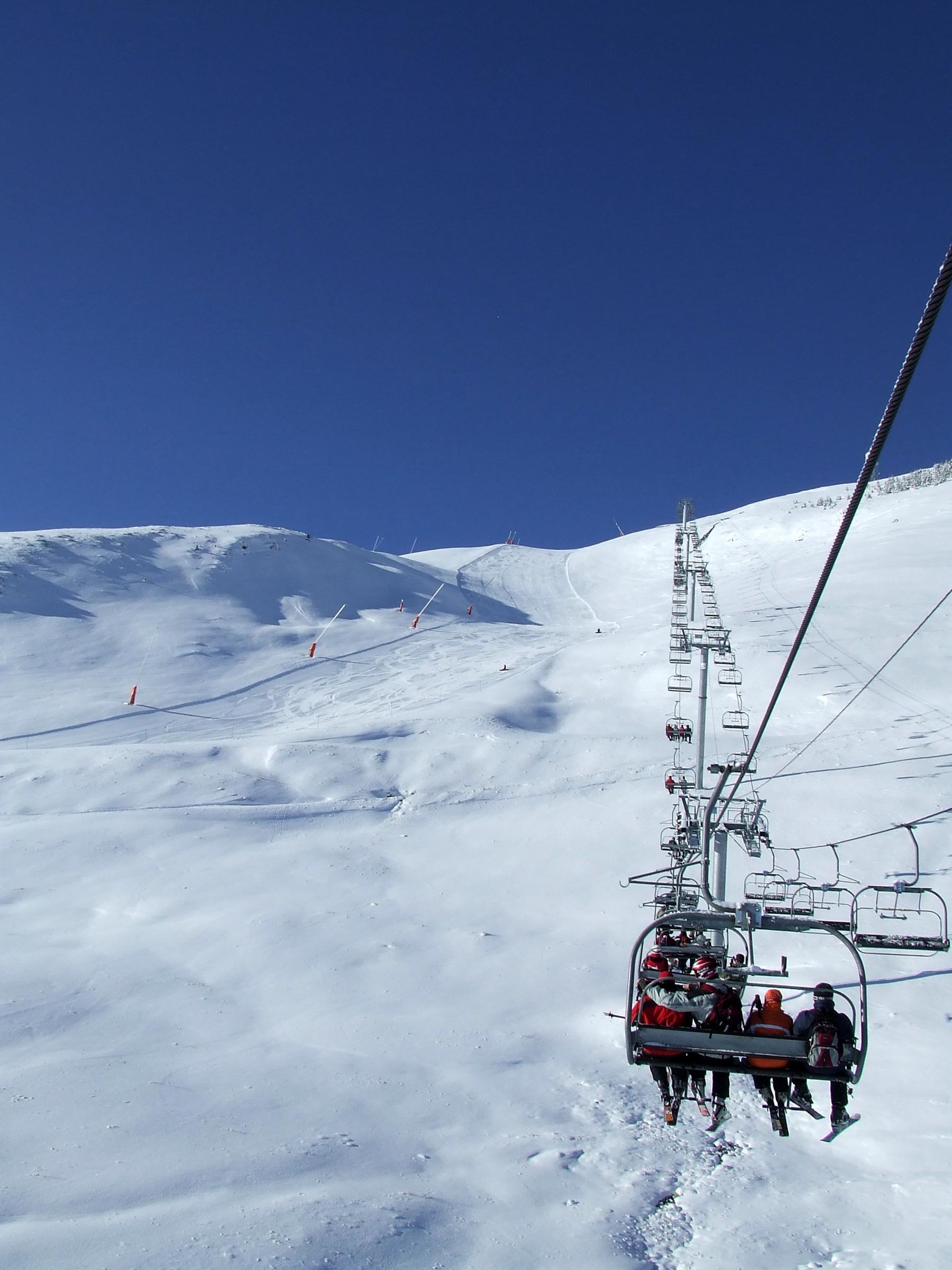 Télésièges aux Deux Alpes