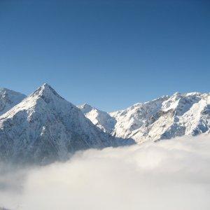 Nuage sur les 2 Alpes