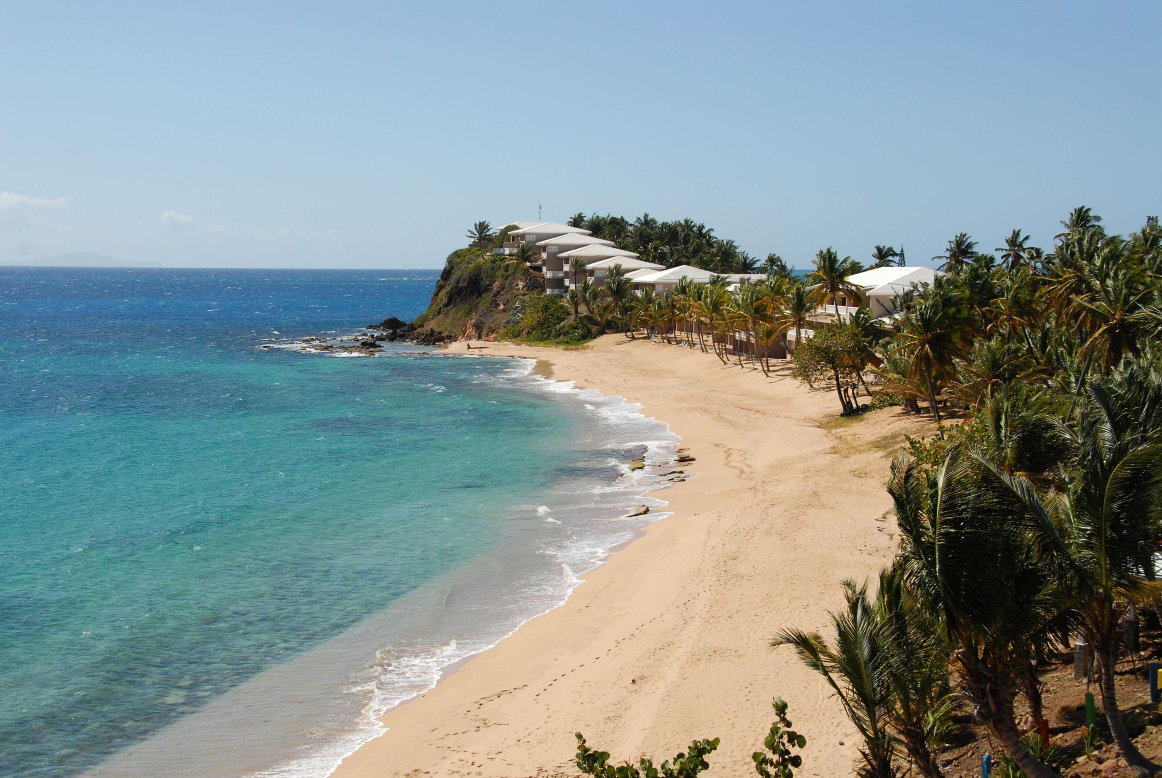 Plage de rêve à Antigua