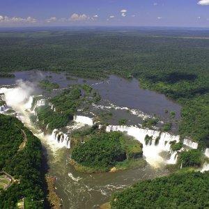 Iguaçu vu du ciel
