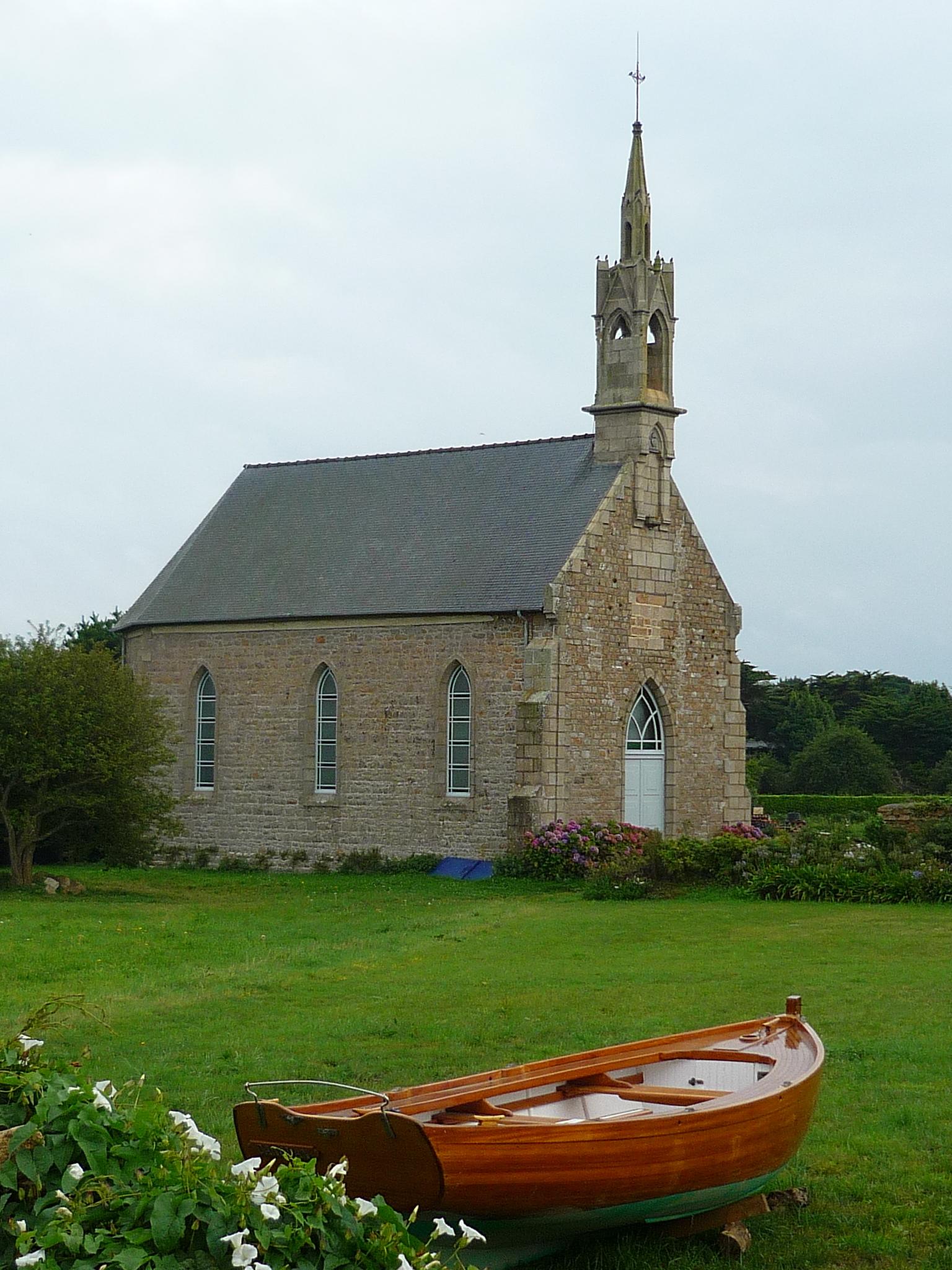 Chapelle à Bréhat