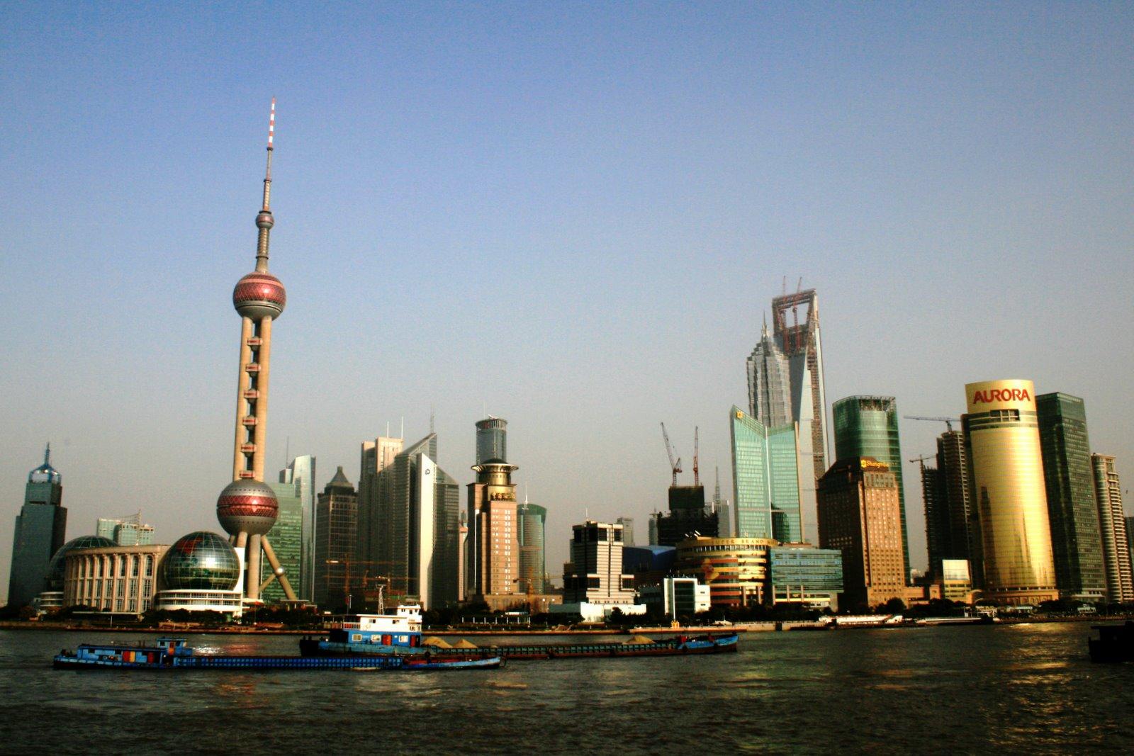 Pudong depuis le Bund (Shanghai)