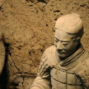 Soldat enterré à Xi'An