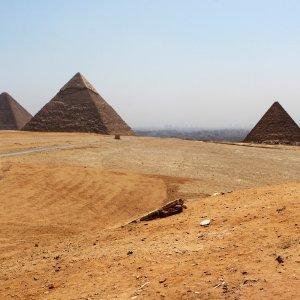 Les 3 Pyramides de Gizeh