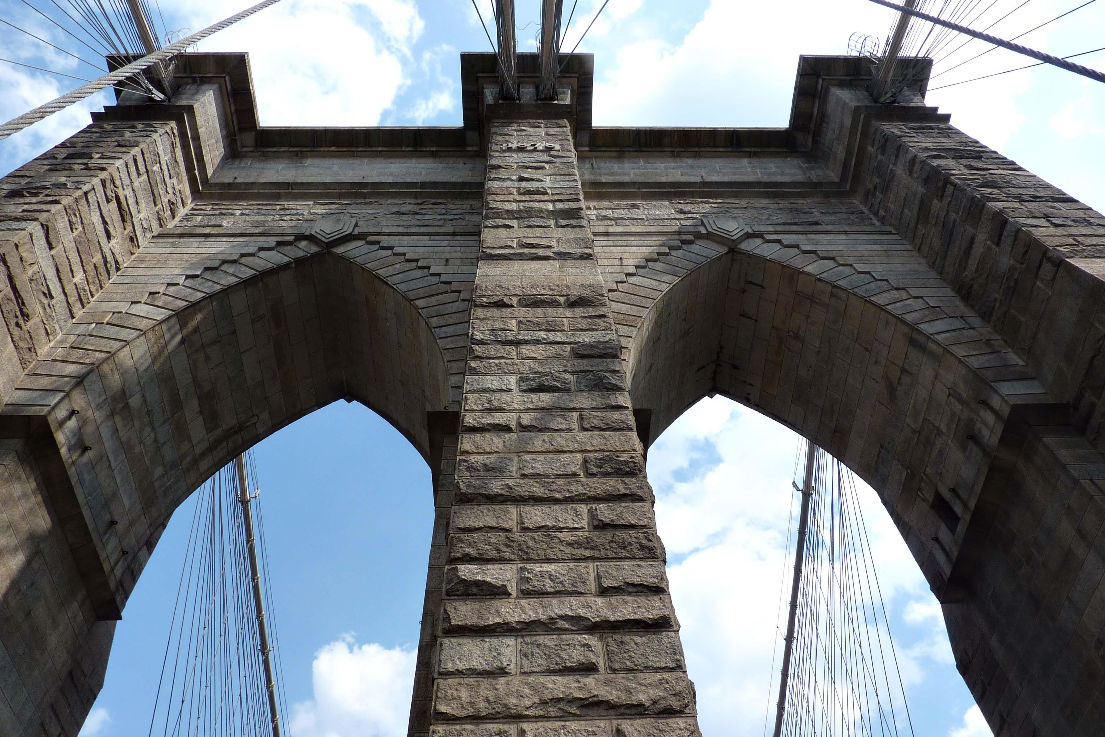 New York : Brooklyn Bridge