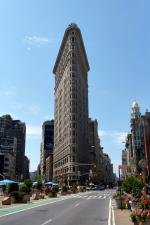 Flatiron building à New-York