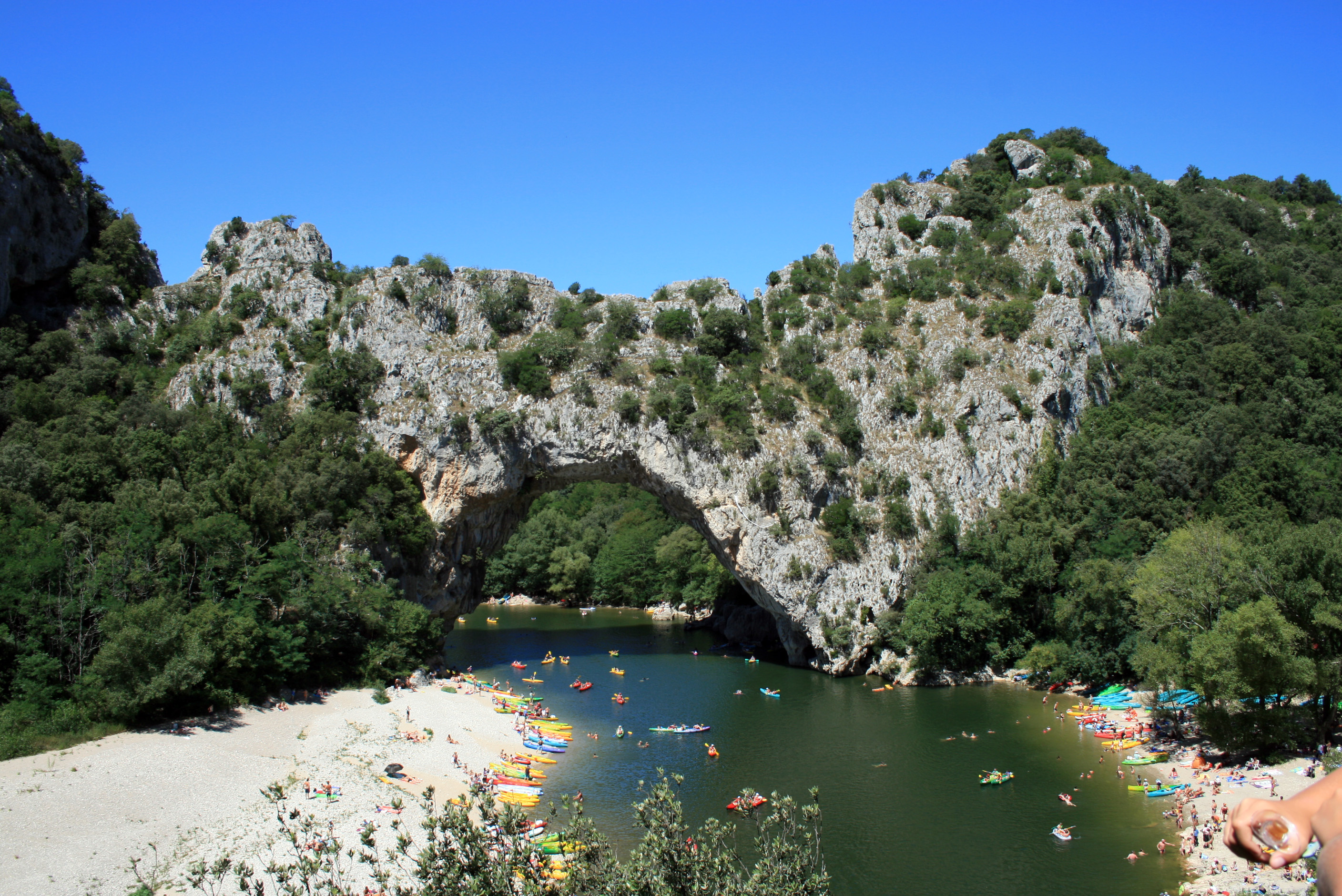 Pont d 39 arc sur freemages - Office de tourisme de vallon pont d arc ...