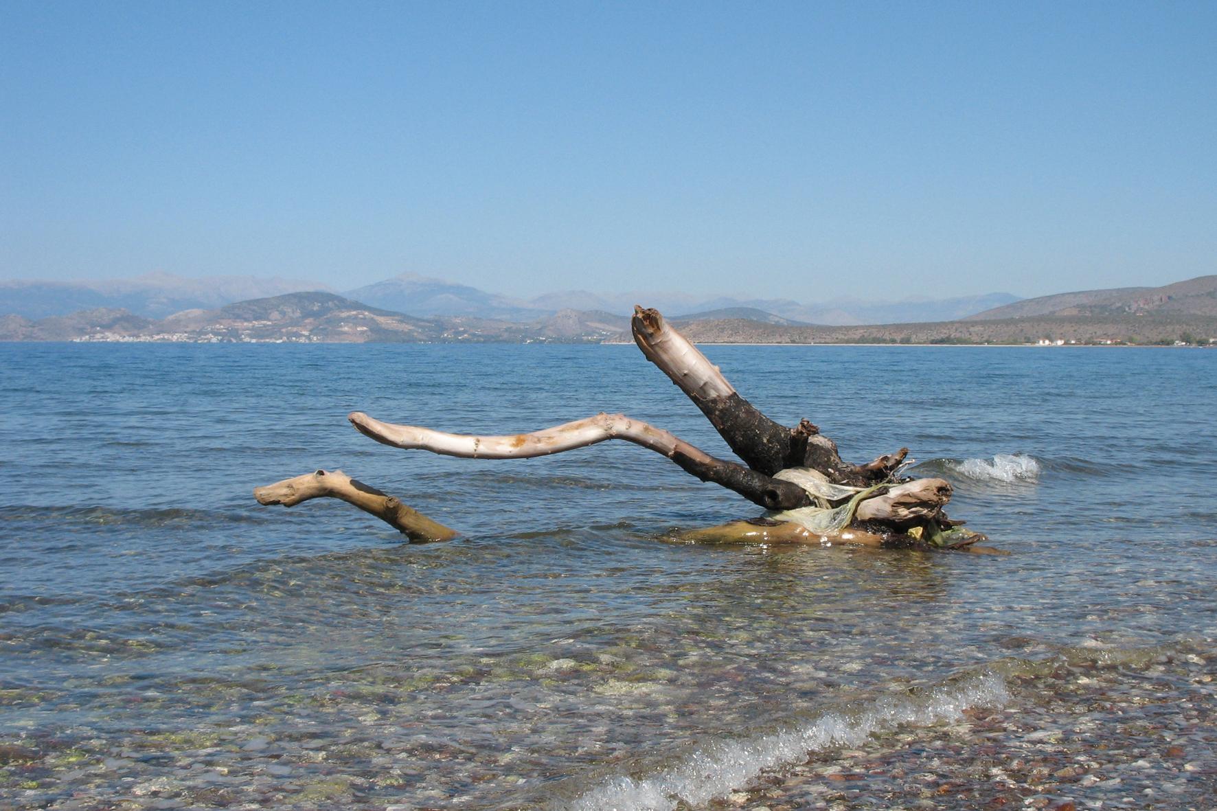 Naufrage en mer Egée