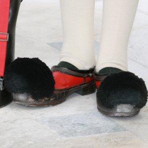 Chaussures à pompons