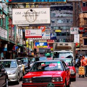 Taxi de Hong Kong