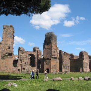 Rome les thermes de Caracalla