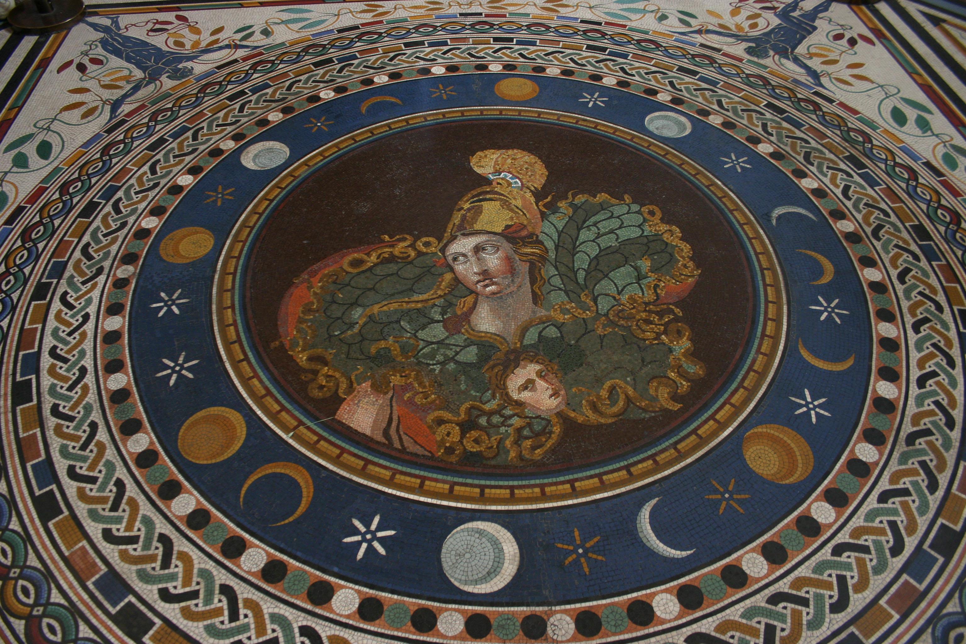 Mosaîque au Vatican