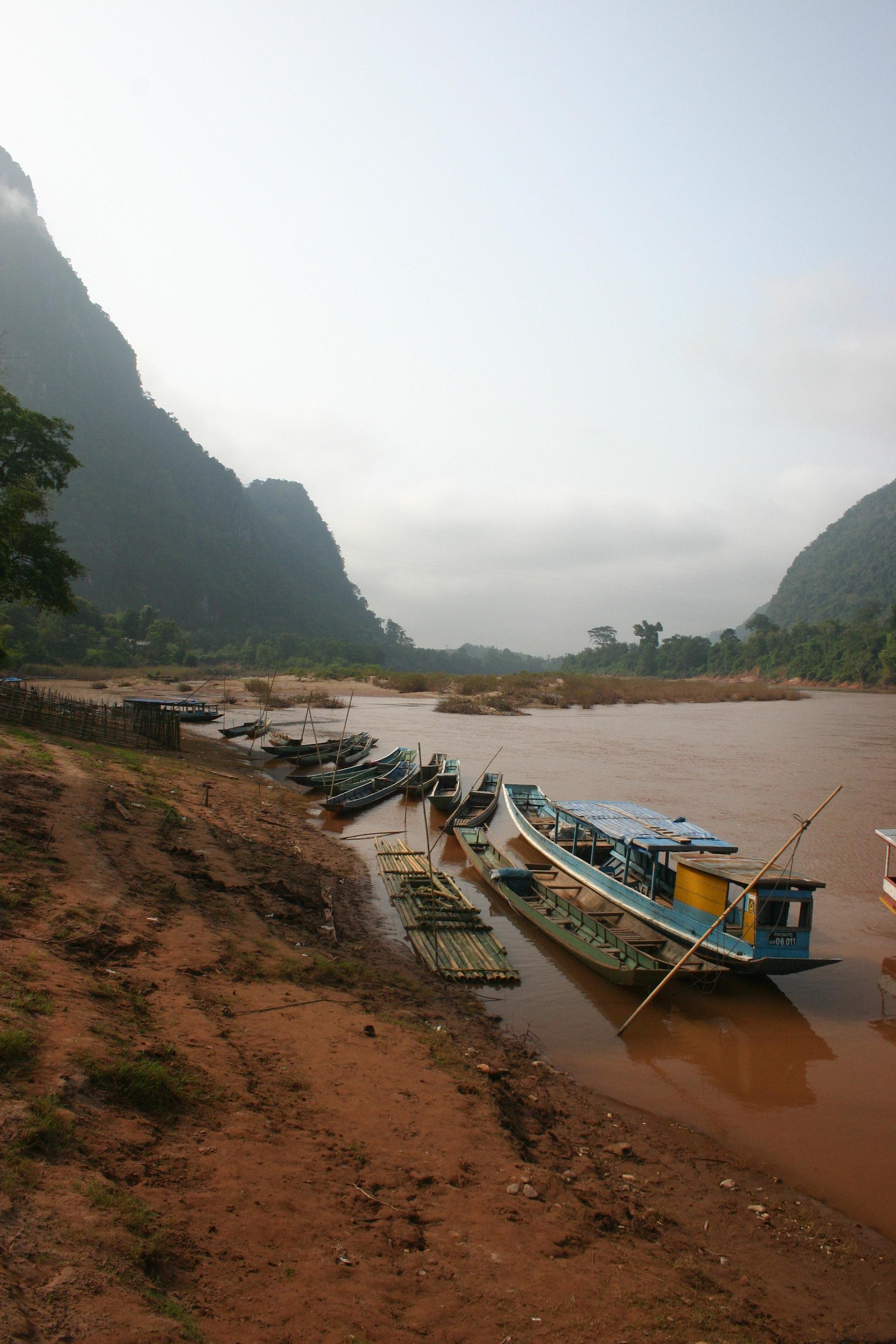 Muang Ngoy Laos  City new picture : Album » Laos » Muang Ngoy Kao » Rive de Muang Ngoy Kao