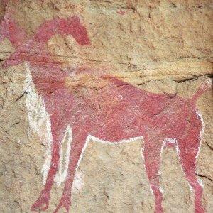 Peinture rupestre - Mouflon