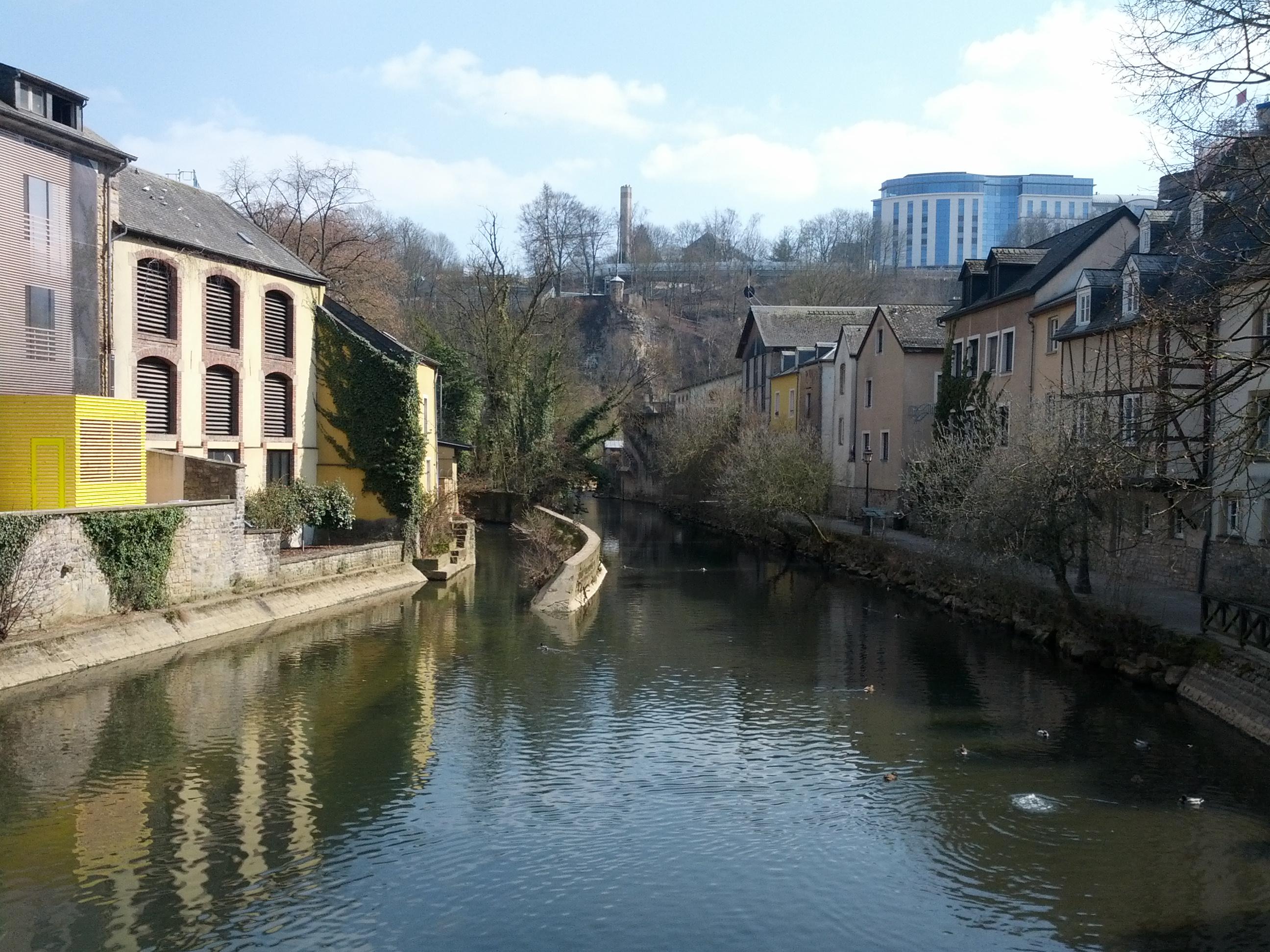 Canal de la vallée du Grund