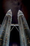 Petronas Towers de nuit