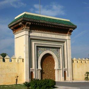 Porte des jardins andalous