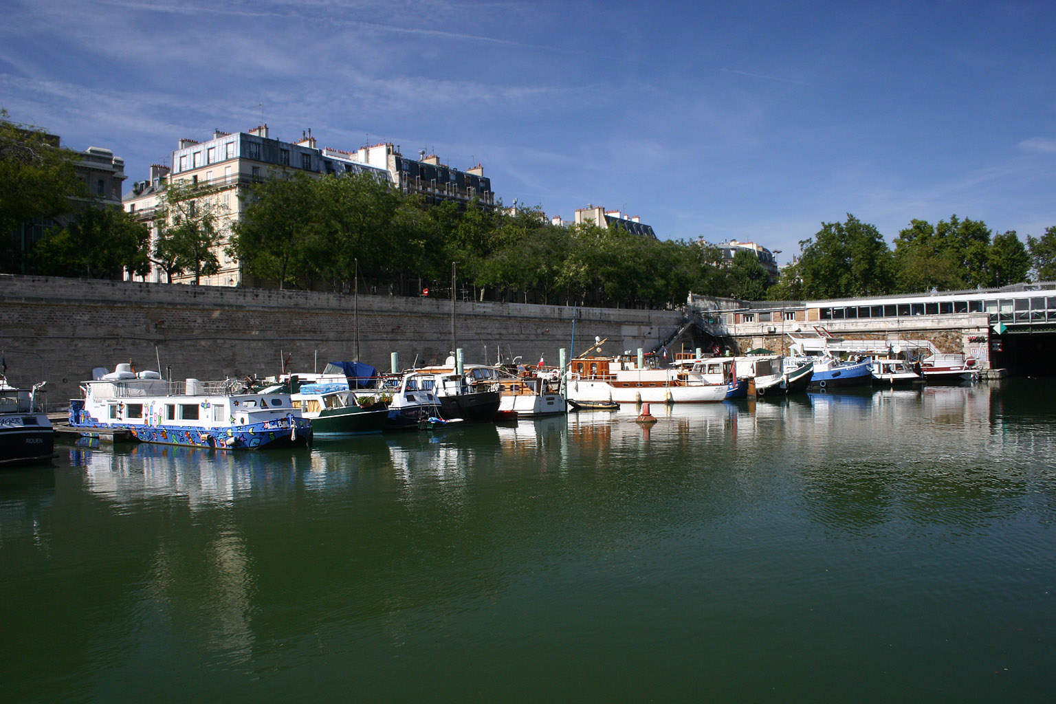 Dans le port de l 39 arsenal sur freemages - Port de l arsenal paris ...