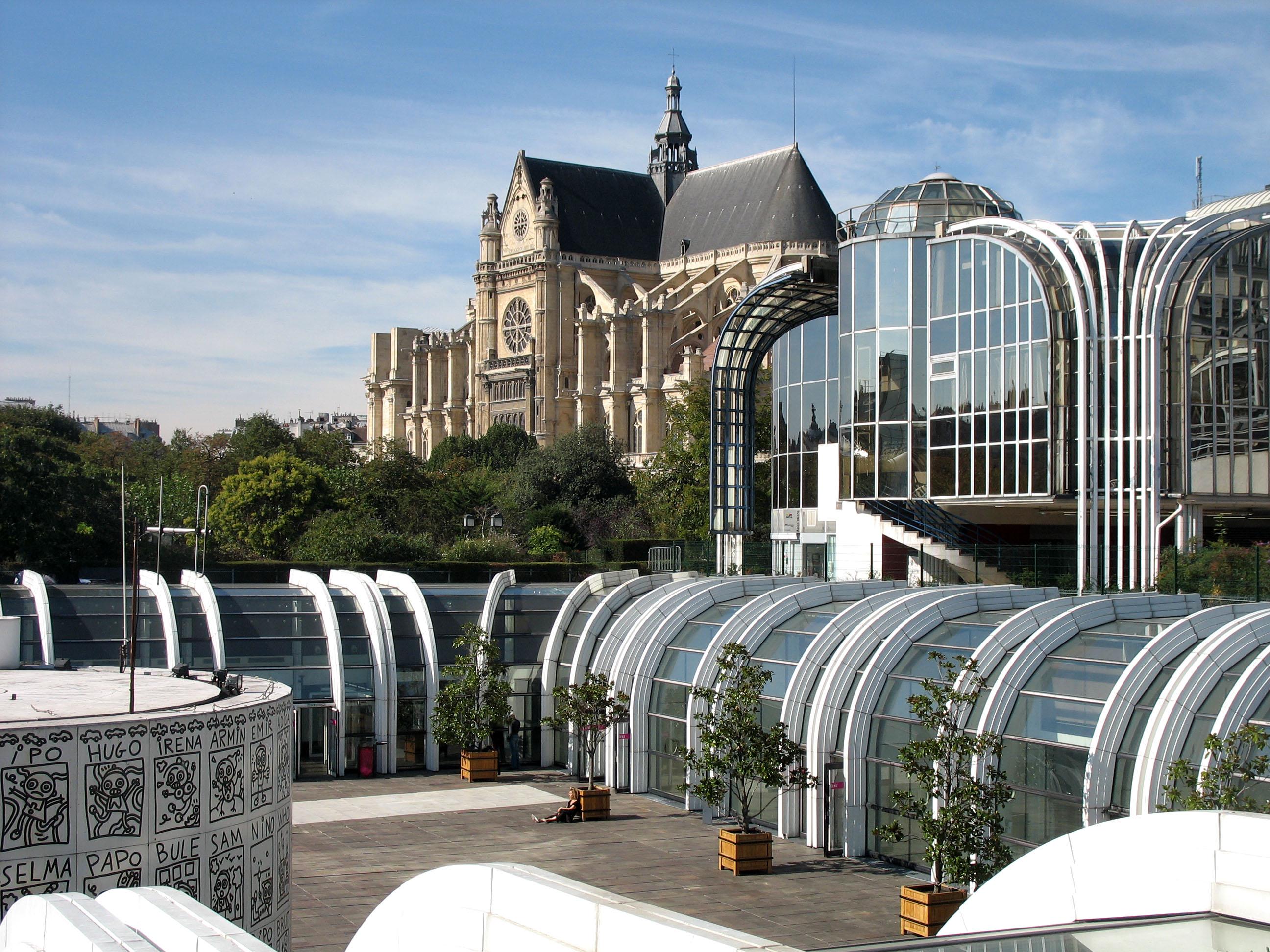 Aux halles sur freemages - Chatelet les halles paris ...