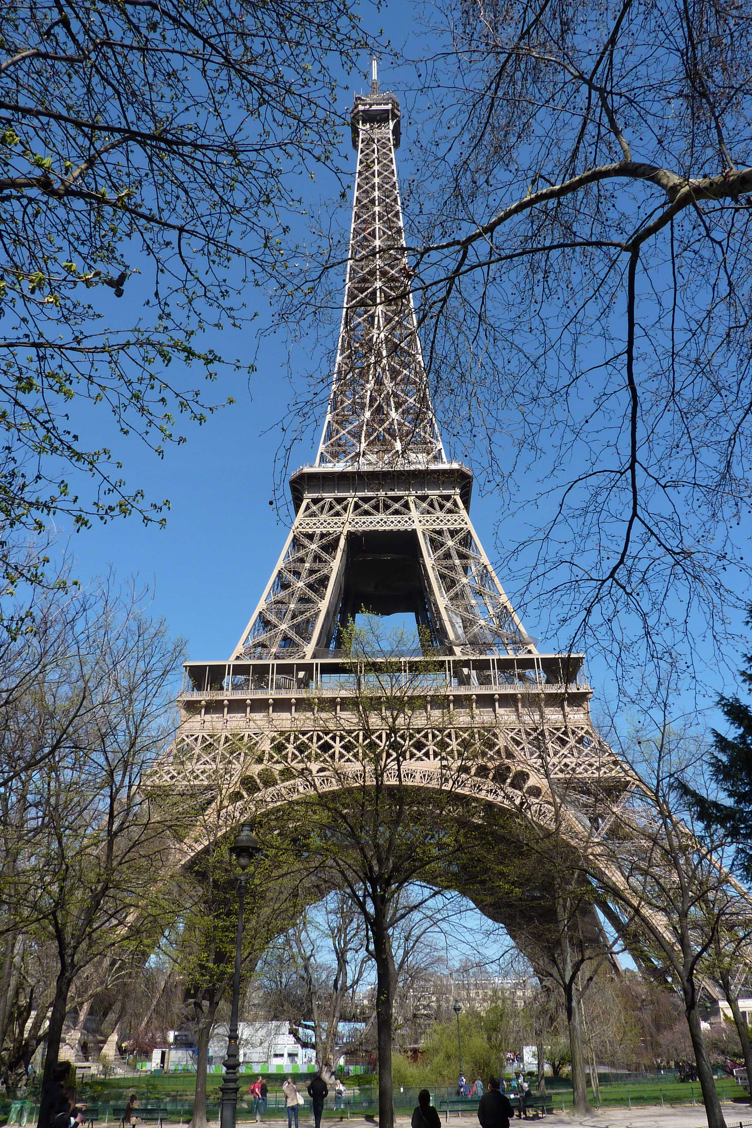 La tour eiffel sur freemages for Paris paysage