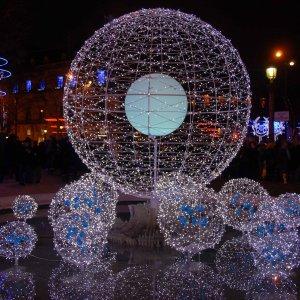 Illuminations aux Champs Elysées