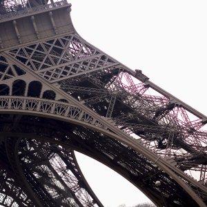 Pied de la Tour Eiffel