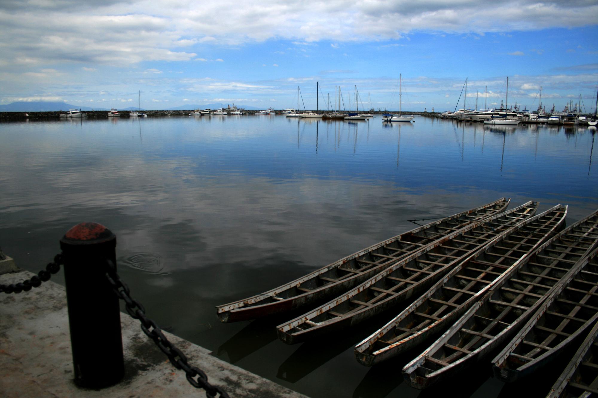 Bitte du port de Manille