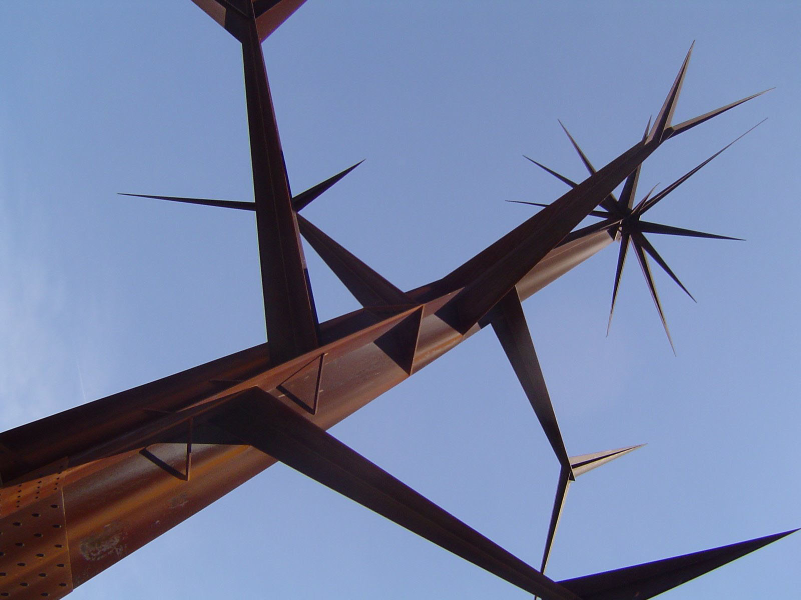 Sculpture dans le Parc des Nations