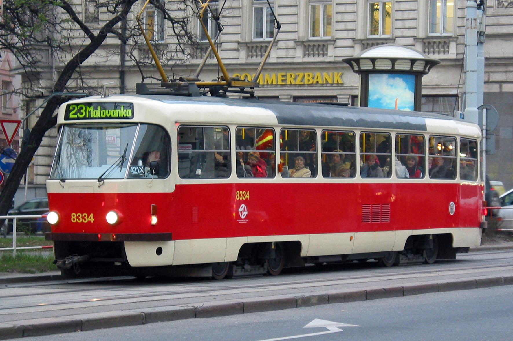 Prague tramway