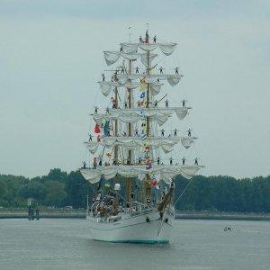 Parade nautique à Rouen