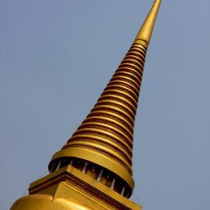 Stupa en or à Bangkok