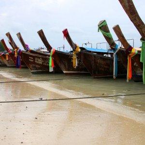 Bateaux à Kho Phi Phi