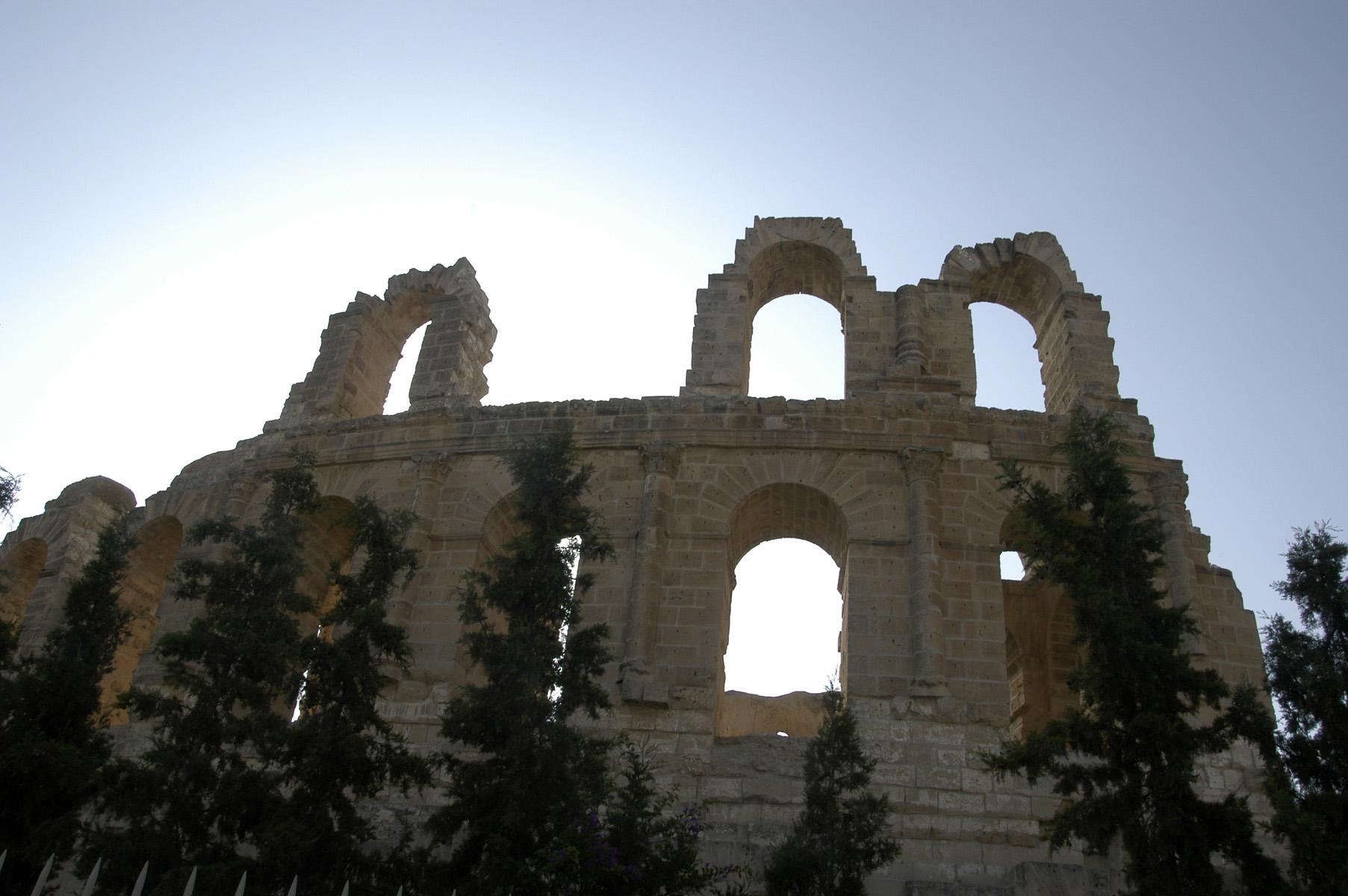 Amphithéatre à EL Djem