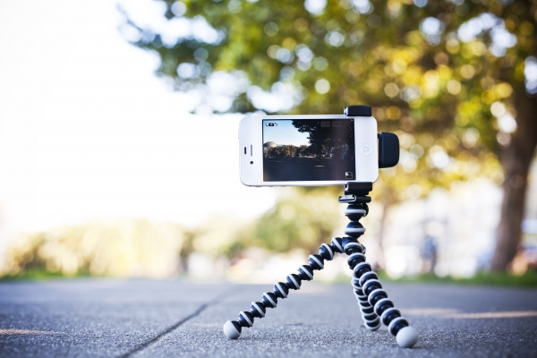 iPhone Shutter Grip - Tripod