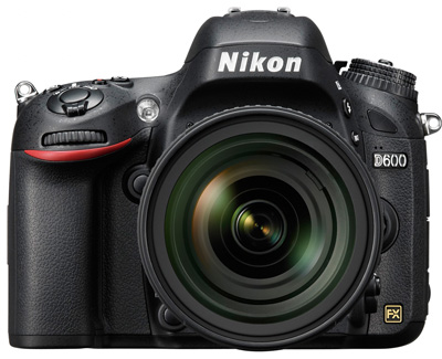 Officialisation du Nikon D600
